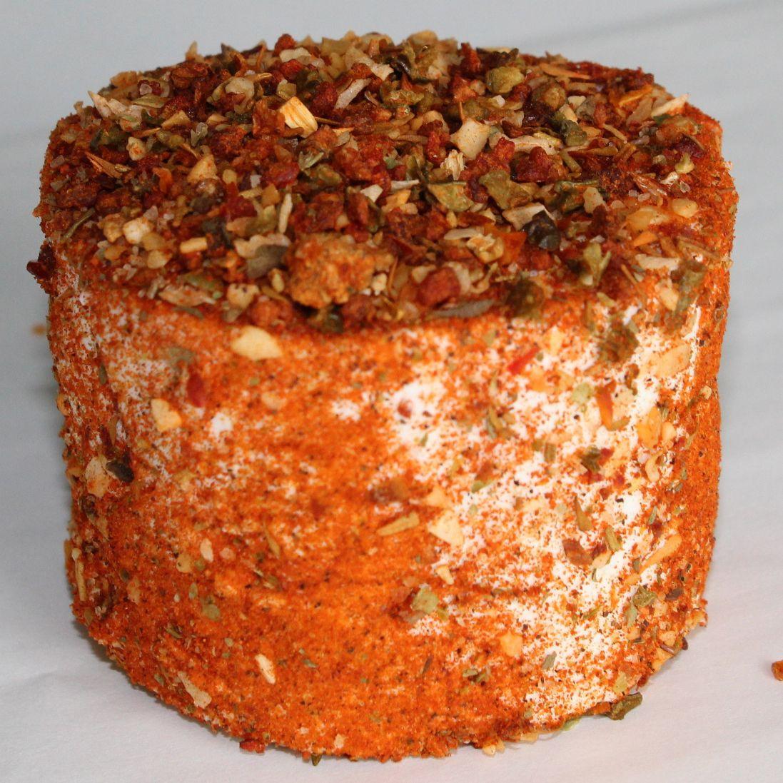 Crottin frais de chèvre épicé Mexicain de la Chèvrerie des coteaux